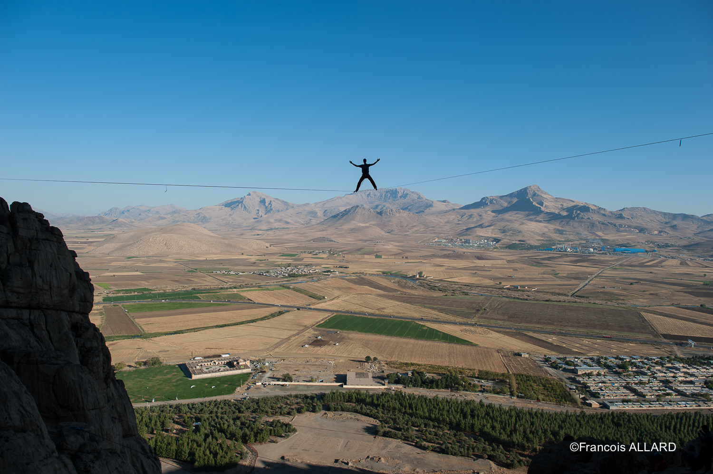 Full expo sur Ankabut (Araignée en Farsi) J'ai nommé cette ligne ainsi à cause des multiples toiles d'araignées qui la recouvraient avec le vent