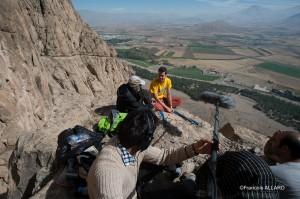 Interview avec Ebrahim, un grand monsieur qui est le principal organisateur de ce festival