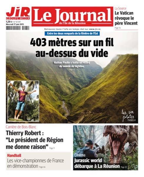JIR record Réunion